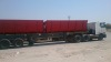 Top trailer twin bin side tipp